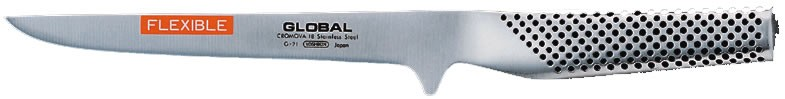 Cuchillo deshuesador flexible Global. 160 mm