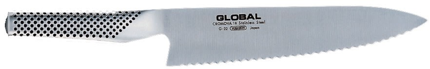 Cuchillo panero Global. 200 mm