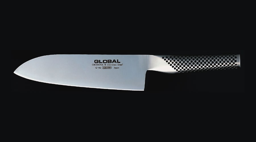 Cuchillo Santoku Global. 180 mm